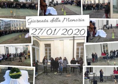 Giornata della memoria 27 gennaio 2020