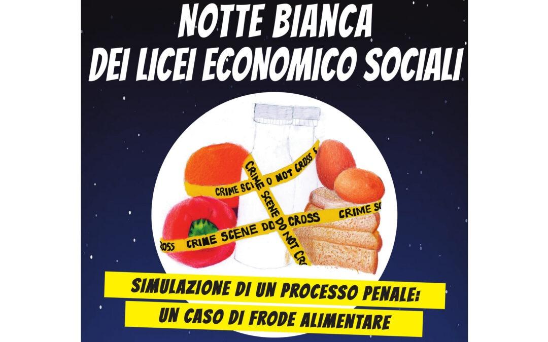 Notte bianca dei licei economico sociali
