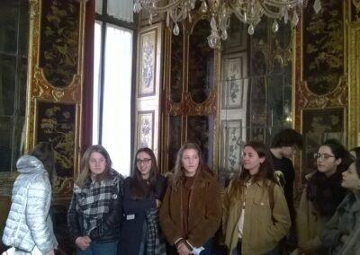Visita di istruzione al palazzo reale di Torino